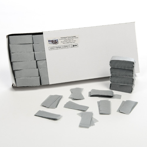 Grey Tissue Confetti - 1/2kg box