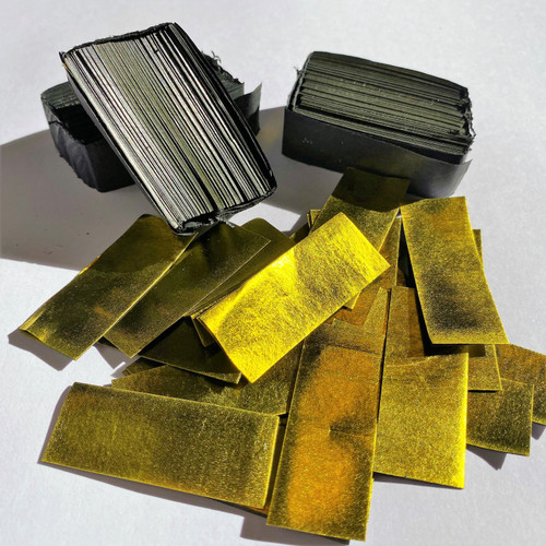 Biodegradable Gold Metallic Confetti