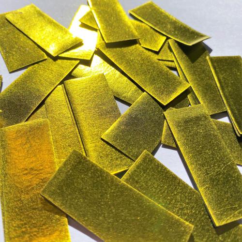 Biodegradable Gold Metallic Confetti - 1kg bag