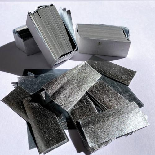 Biodegradable Silver Metallic Confetti