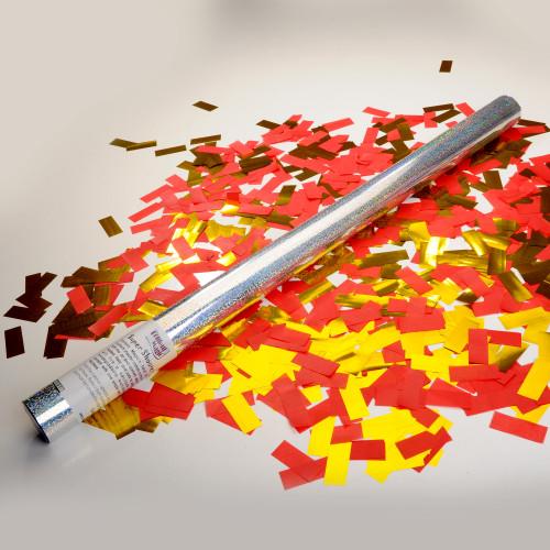 Large 50/50 handheld confetti cannon