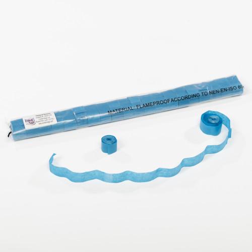 Dark Blue Tissue Streamers - 20mm x 7m - sleeve of 40