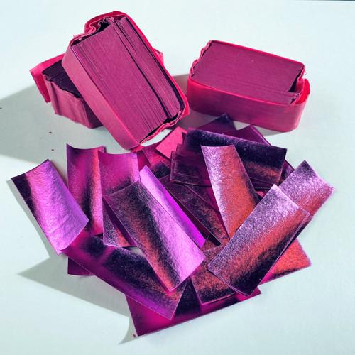 Biodegradable Pink Metallic Confetti