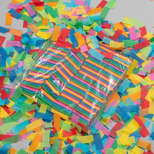 Multicolour Tissue Confetti - 1kg bag