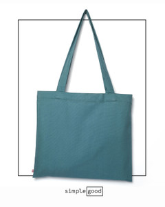 The Everyday Canvas Tote, shown here in in a custom color.