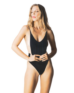 Front View of Miramar One Piece Swimsuit