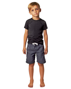Front View of Boys Short Sleeve Rashie