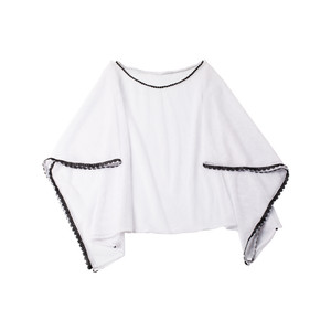Front View of Lola Fishnet Top