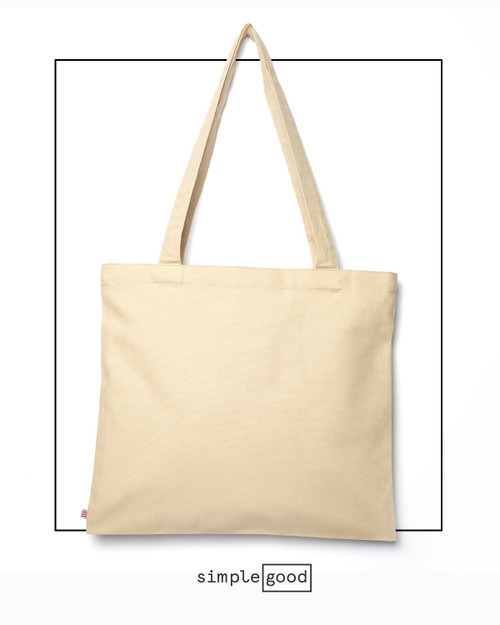 The Everyday Canvas Tote, shown here in Natural Cotton color.