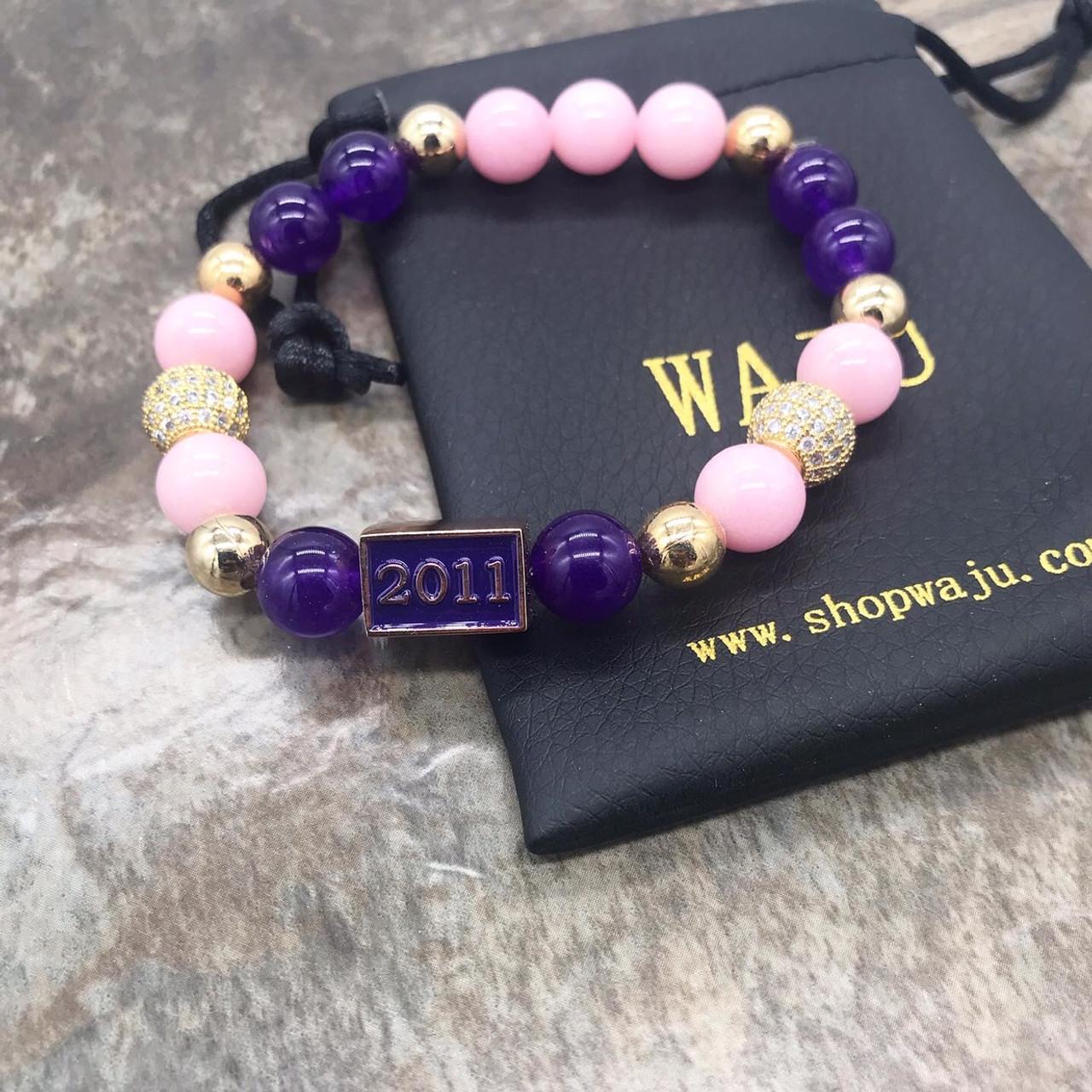 Kappa Epsilon Psi Pearl Bracelet