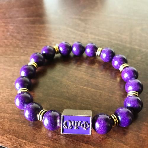 Omega Psi Phi Bracelet
