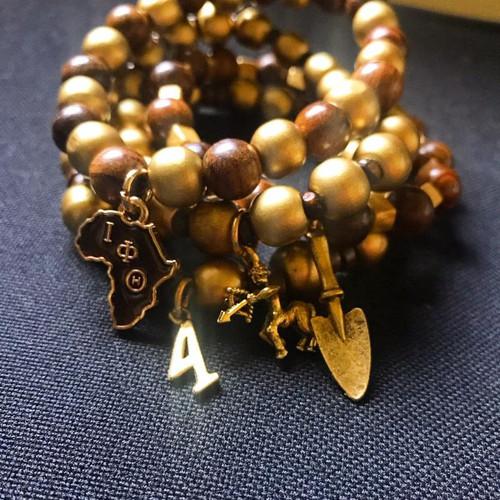 Custom Iota Phi Theta Custom Bracelet