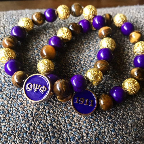 "Omega Psi Phi ""Easton""  Bracelet"
