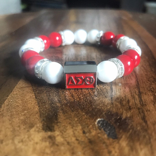 "Delta Sigma Theta ""Elle"" Bracelet"