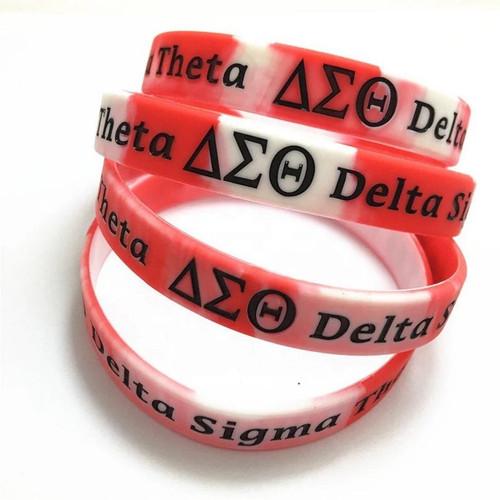 Delta Sigma Theta Silicone Bracelet