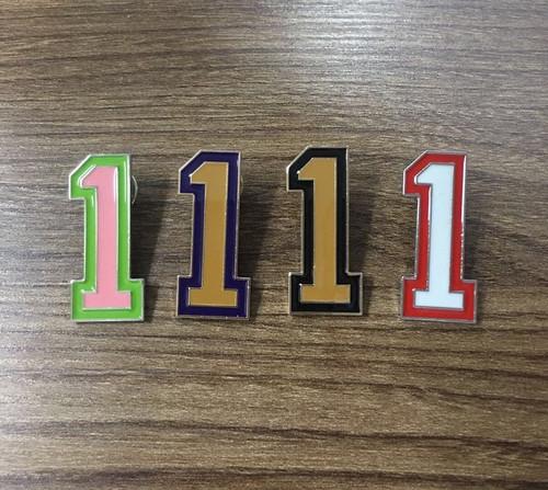 Number Pin