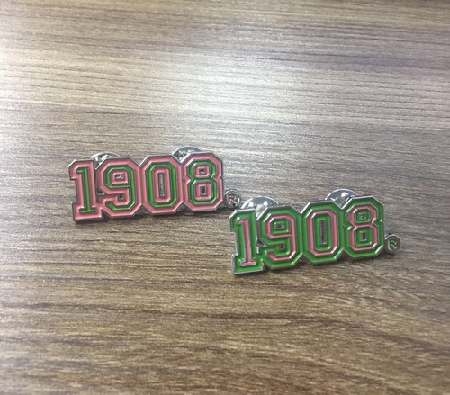 1908 Varsity Pin
