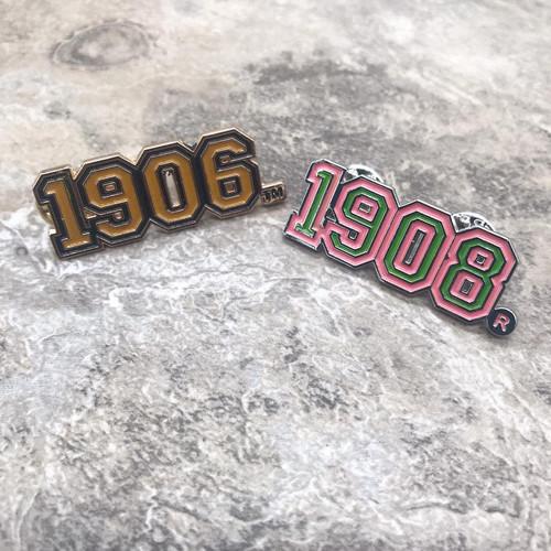 1906 & 1908 Varsity Pin Set