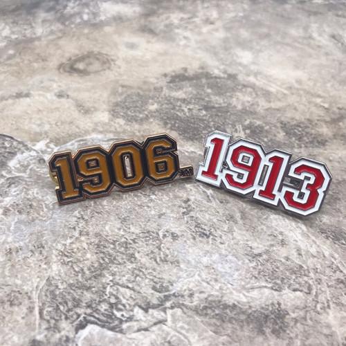 1906 & 1913 Varsity Pin Set