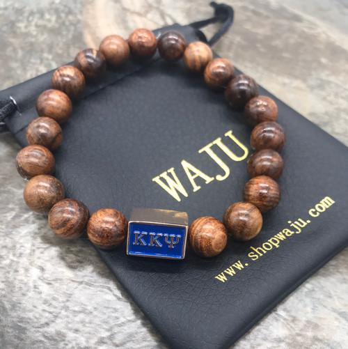 Kappa Kappa Psi Wood Bracelet