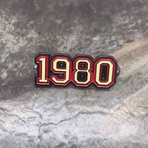 1980Varsity Pin