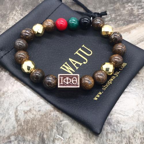 """Iota Phi Theta """"Bronze""""  Bracelet"""