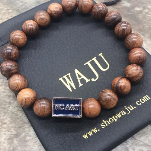 NC A&T Wood Bracelet