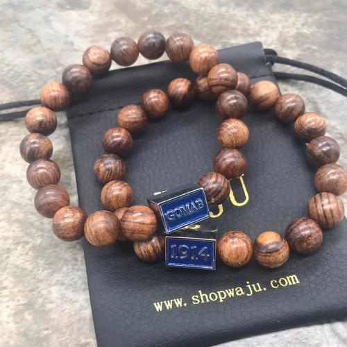 GOMAB/1914 wood bracelet