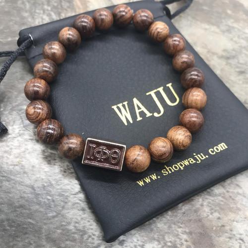 Iota Phi Theta Wood Bracelet