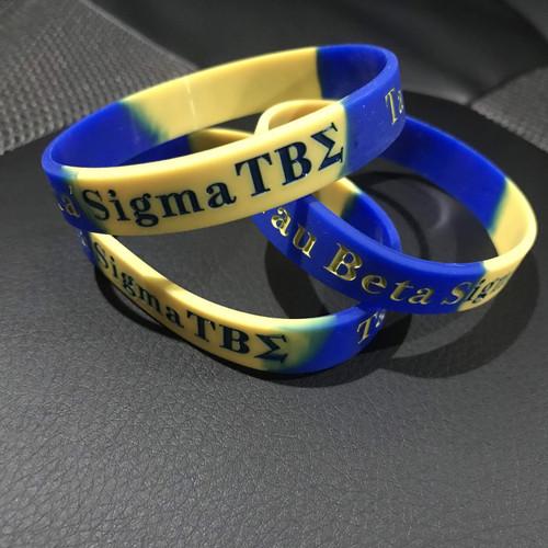 Tau Beta Sigma Silicone Bracelet