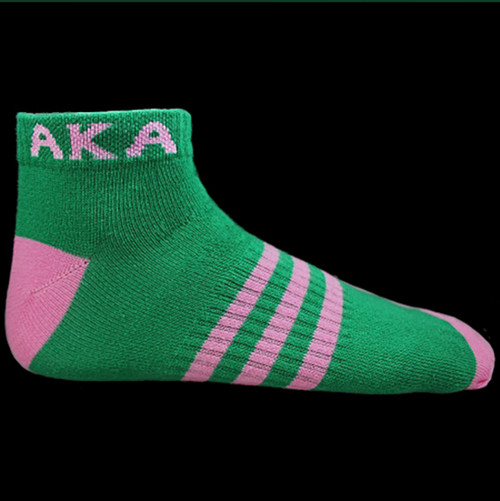 Alpha Kappa Alpha Ankle Socks