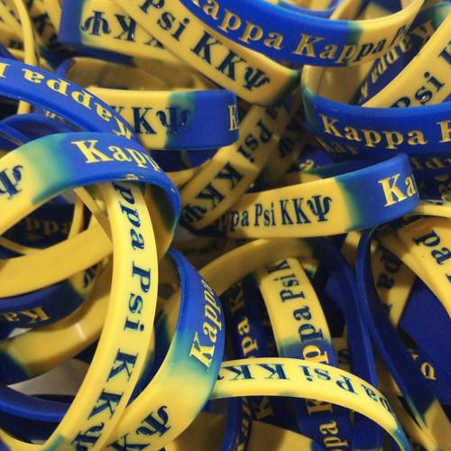 Kappa Kappa Psi Silicone Bracelet