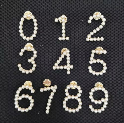 Pearl Number Pin
