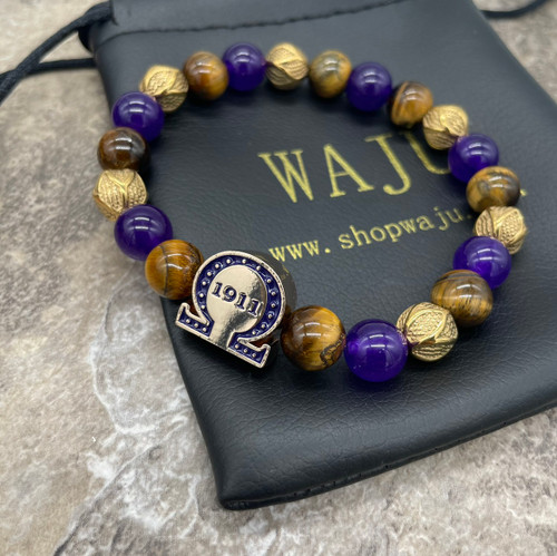 "Omega Psi Phi ""Matthews""  Bracelet"