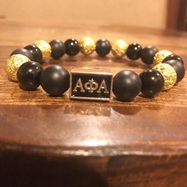 "Alpha Phi Alpha ""Jefe""  Bracelet"