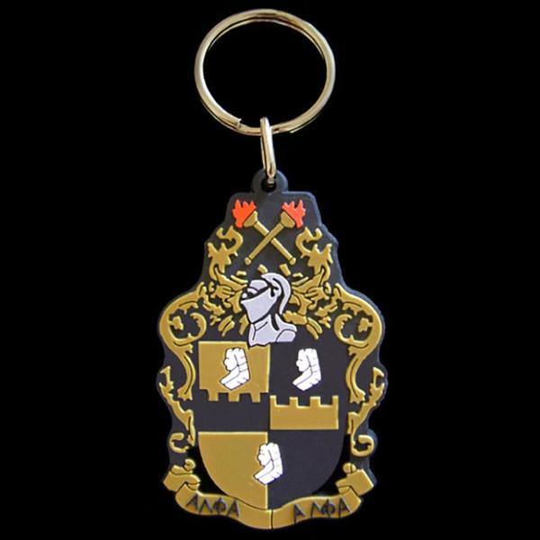 Alpha Phi Alpha PVC Keychain