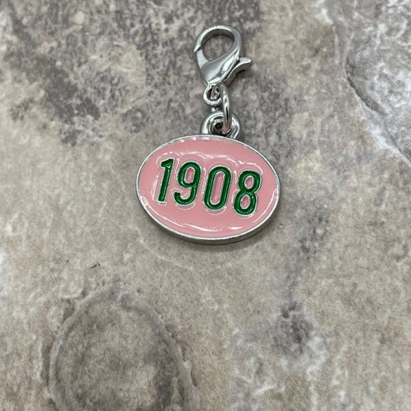 AKA 1908 Oval Charm