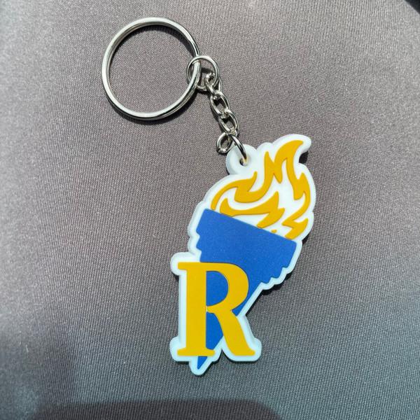 Rhoer PVC Keychain