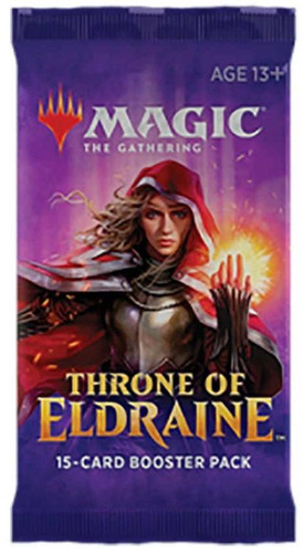 Magic the Gathering Throne of Eldraine Draft Booster Pack
