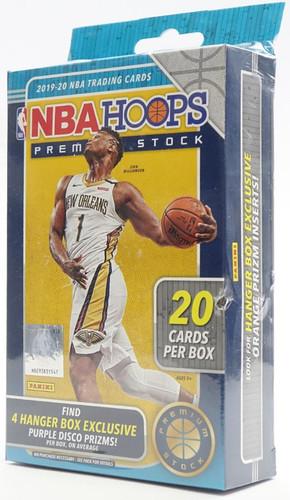 2019/20 Panini Hoops Premium Stock Basketball Hanger Box
