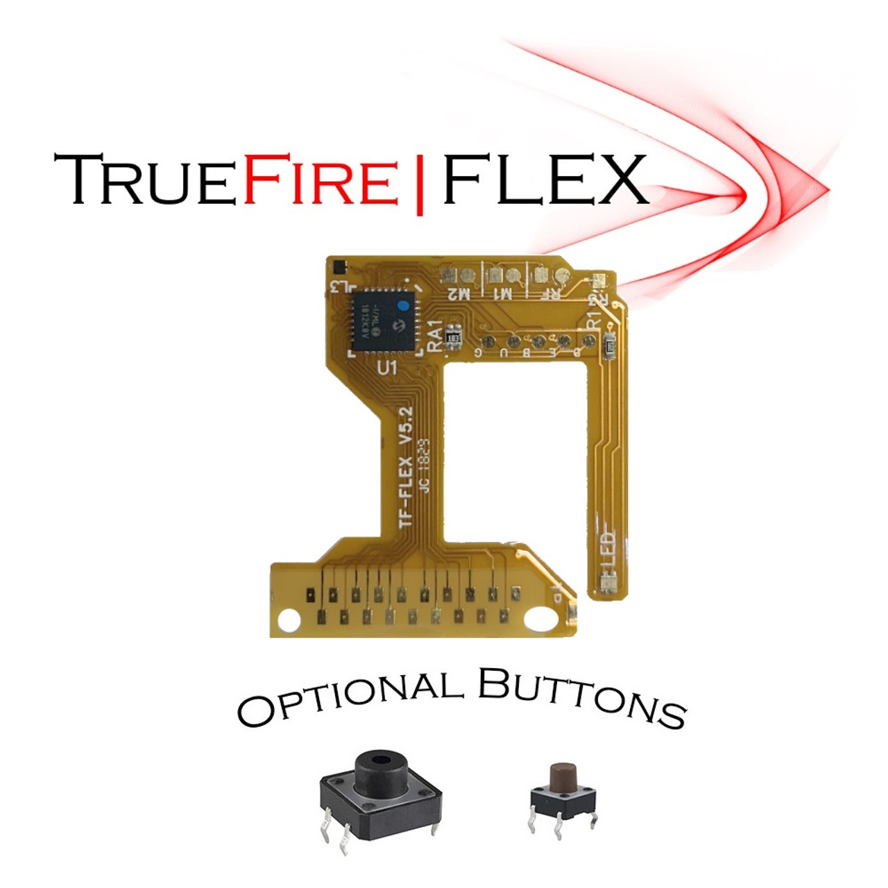 PS4 TrueFire-FLEX V5.2 Rapid fire Mod kit
