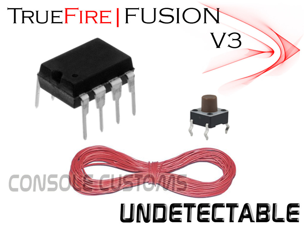 PS3 TrueFire FUSION V3.5 rapid fire Kit
