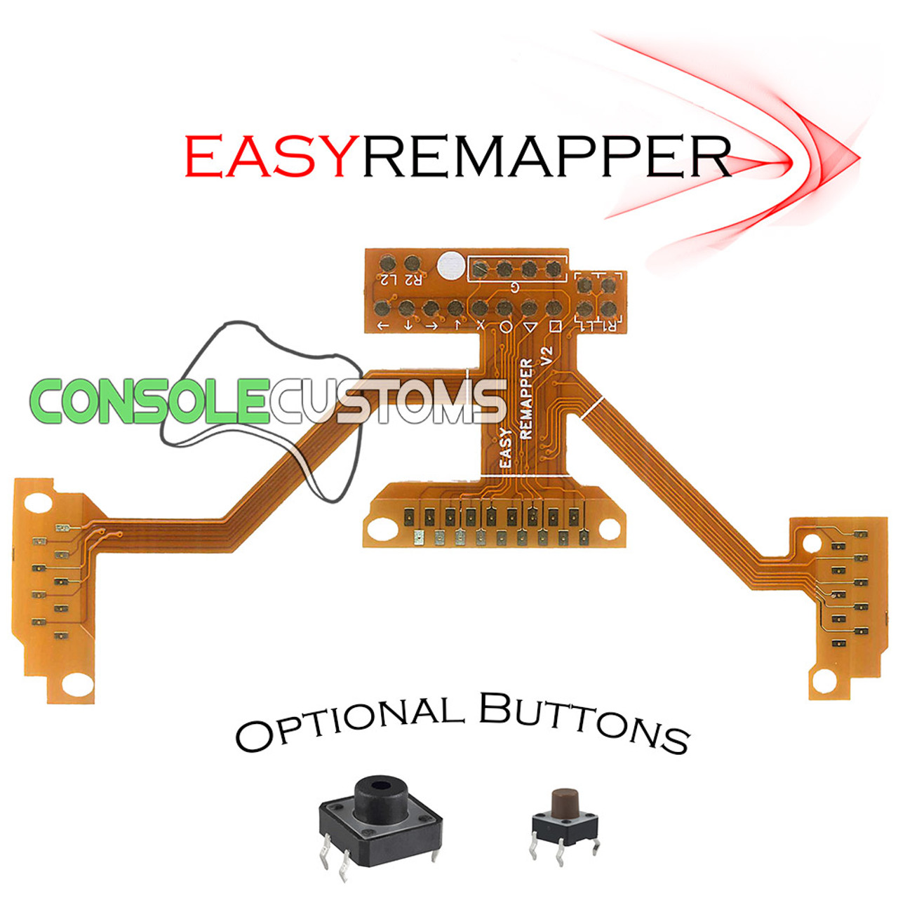 PS4 Easy Mapper V2 Fixed Button Mapping Flex Mod