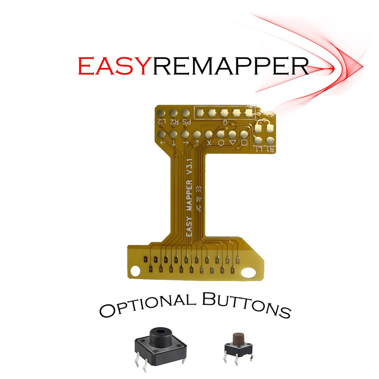 PS4 Easy Mapper V3.1 Fixed Button Mapping Flex Mod