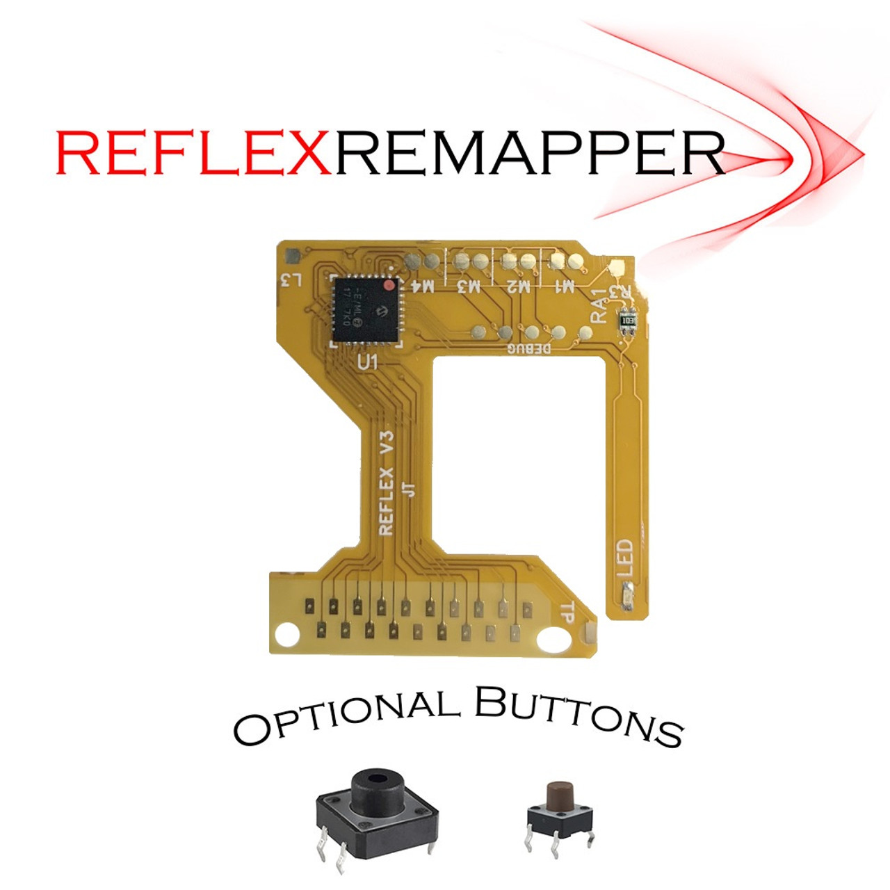 PS4 TrueFire-ReFLEX V3.5 button remapping flex mod