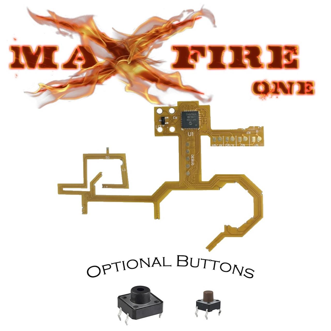Xbox One MAXFIRE-REFLEX V4S button remapping flex mod