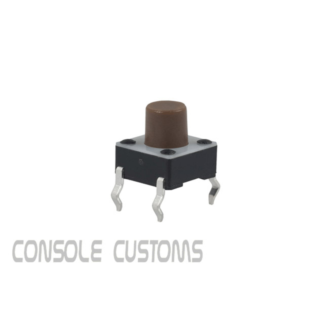 6x6x7mm Tactile switch (brown stem)