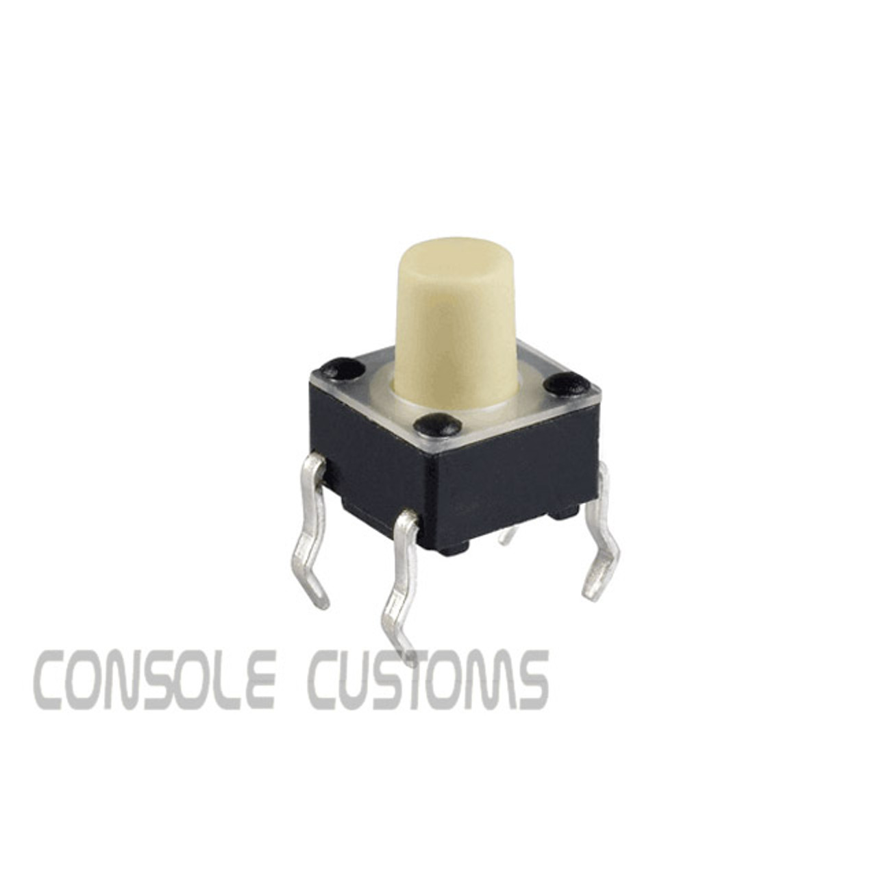 6x6x7mm Tactile switch (White stem)