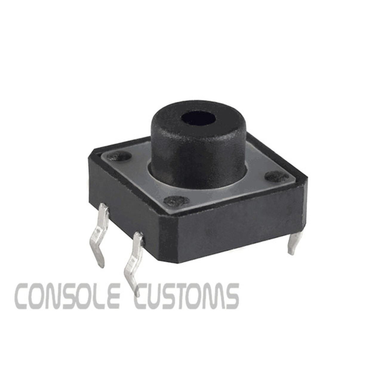 12x12mm Tactile Switch/button Black