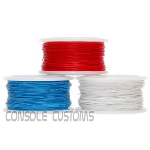30ga kynar wire - Red, white, Blue, Green, Yellow